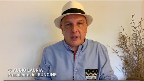 Claudio Lauria (President del SUNCINE)
