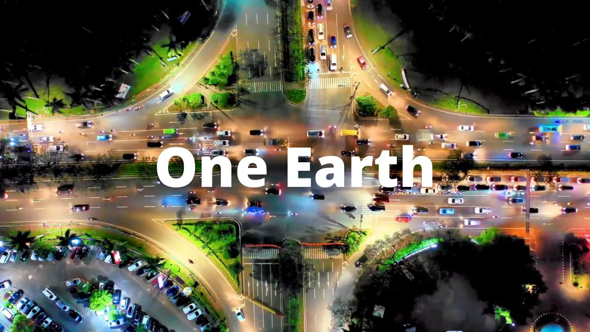 '.ONE EARTH.'
