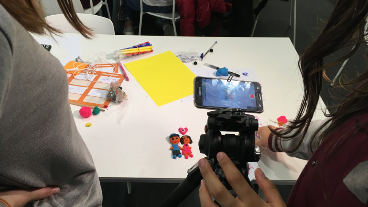 '.STORIES OF A PLANET. A WORKSHOP ON STOP MOTION AND THE ENVIRONMENT.'