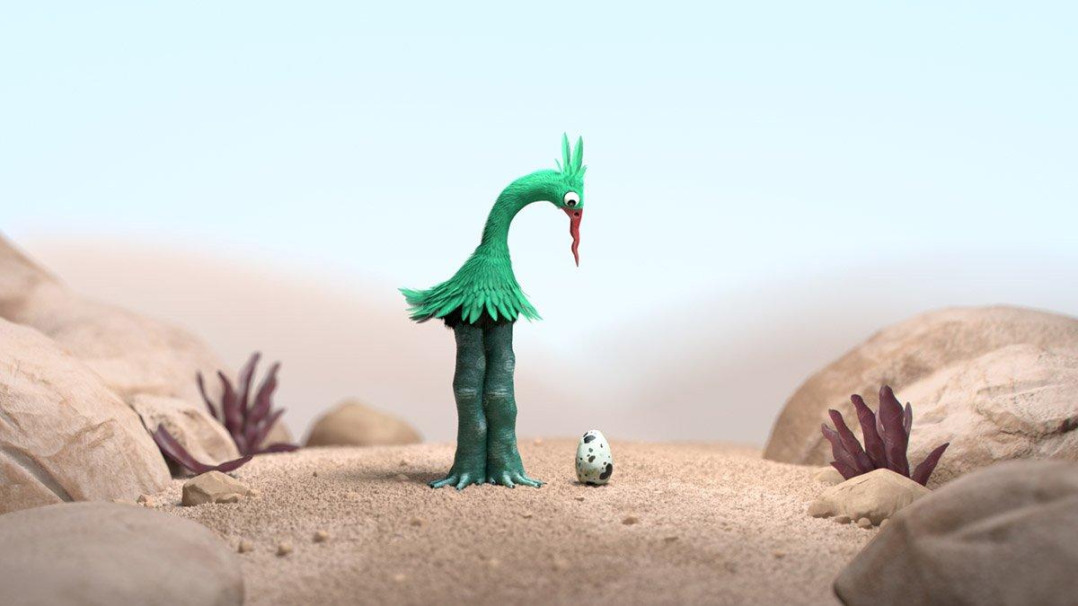 '.THE GREEN BIRD.'